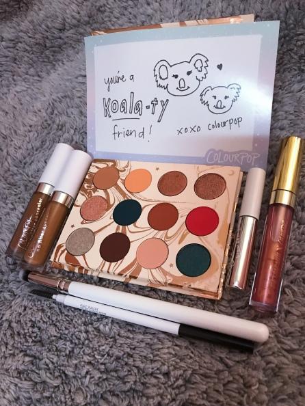 #colourpop #cosmetics #beautyproducts #haul #makeup